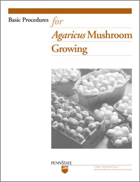 agarus mushrooms growing